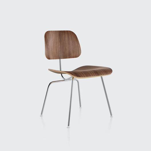 Eames® Moulded Plywood Dining Chair, Metal Base