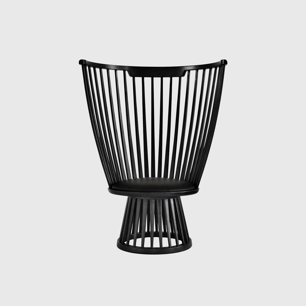 Fan Chair, Black