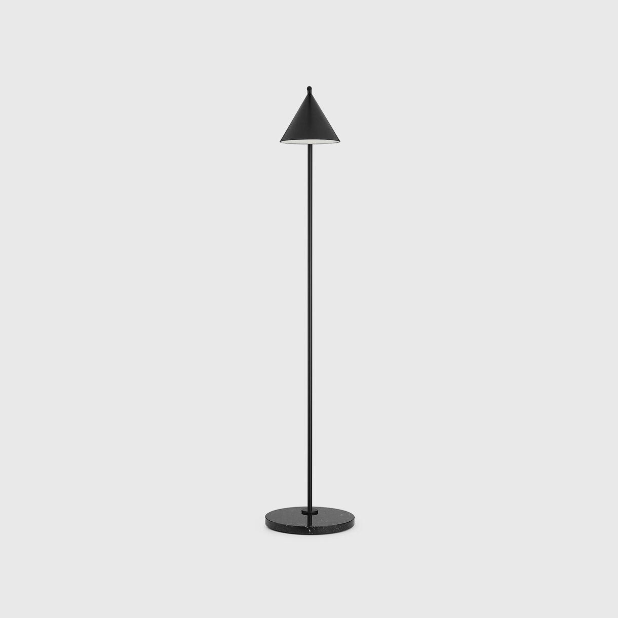 Captain Flint Floor Lamp, Black