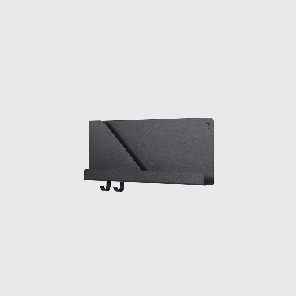Folded Shelves Small, Black