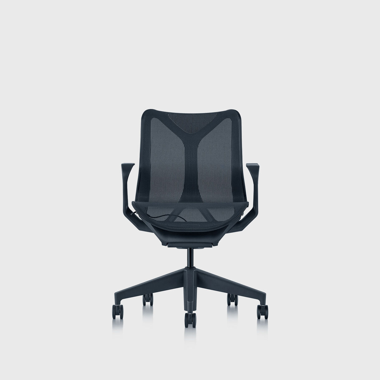 Cosm Chair, Nightfall - Low Back - Fixed Arms