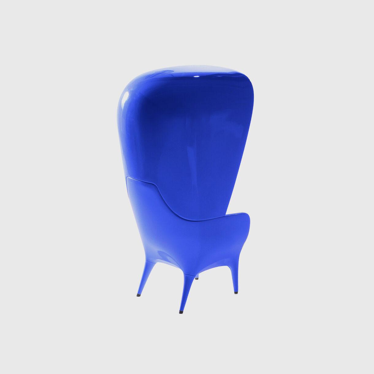 Showtime Poltrona Armchair, Indoor, Blue
