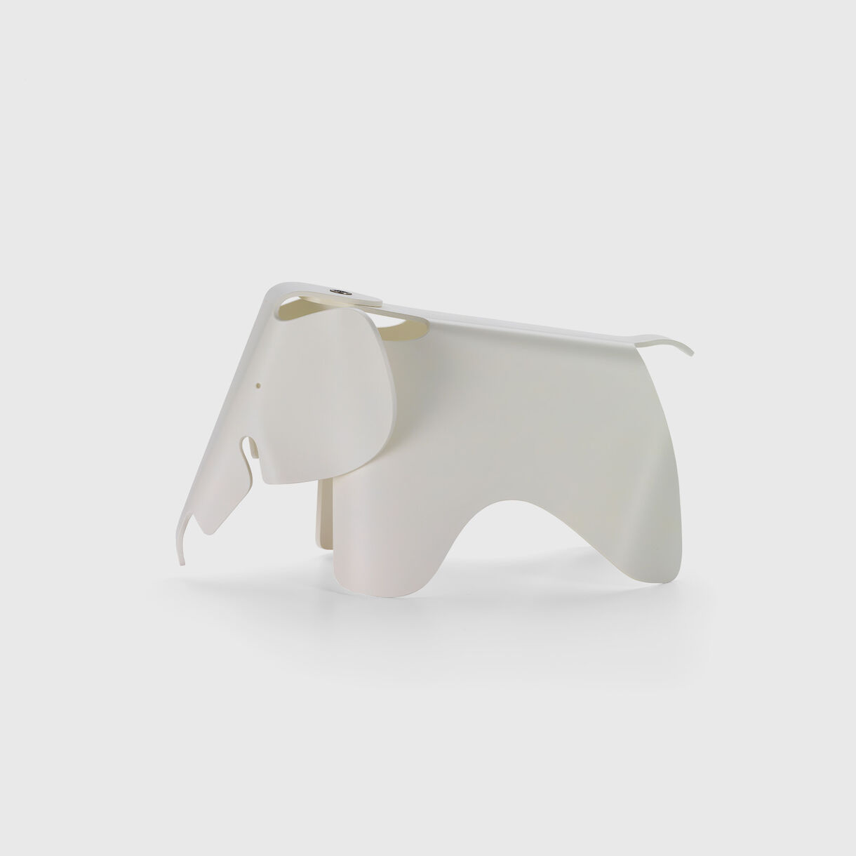 Eames Elephant Small, White