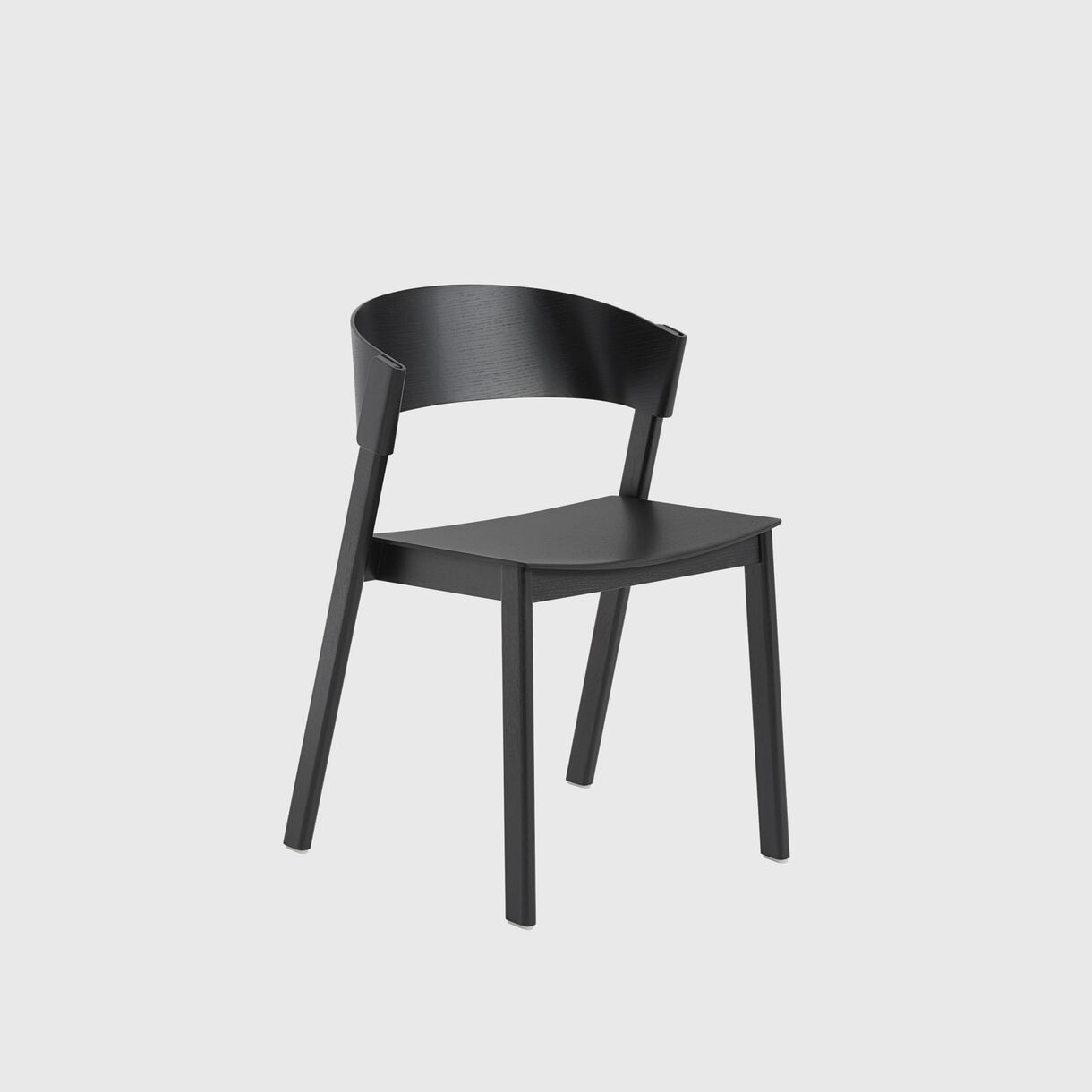 Cover Side Chair, Black