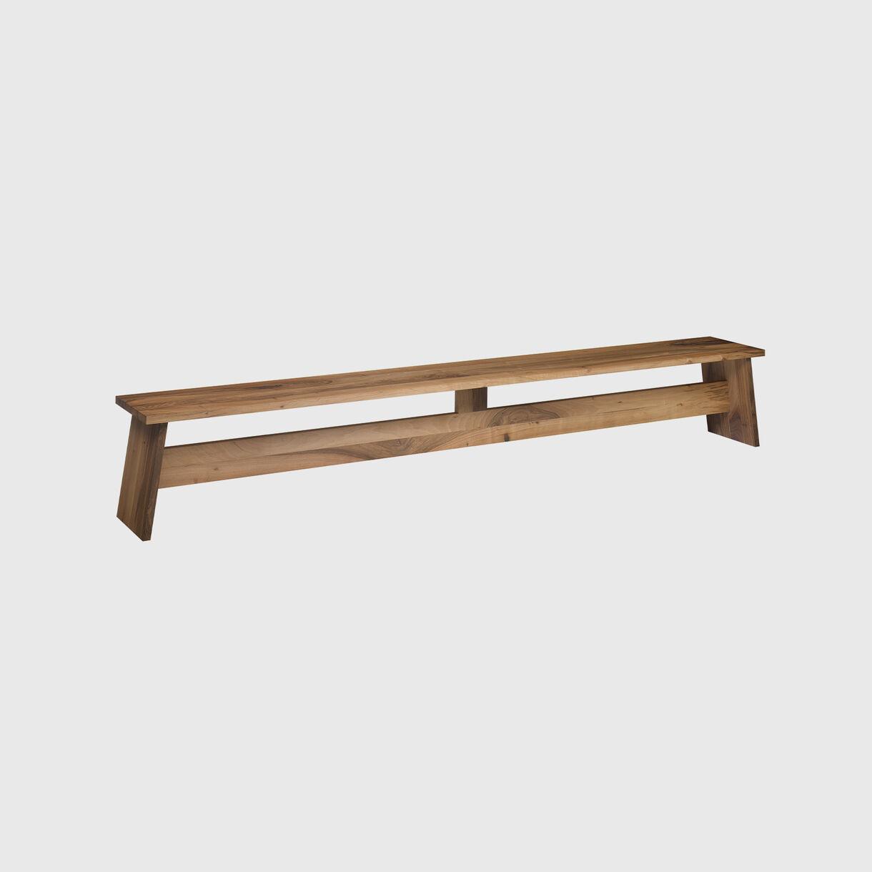 Fawley Bench, Walnut