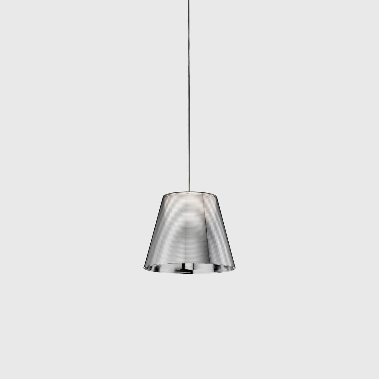 KTribe Suspension Lamp Silver, Small