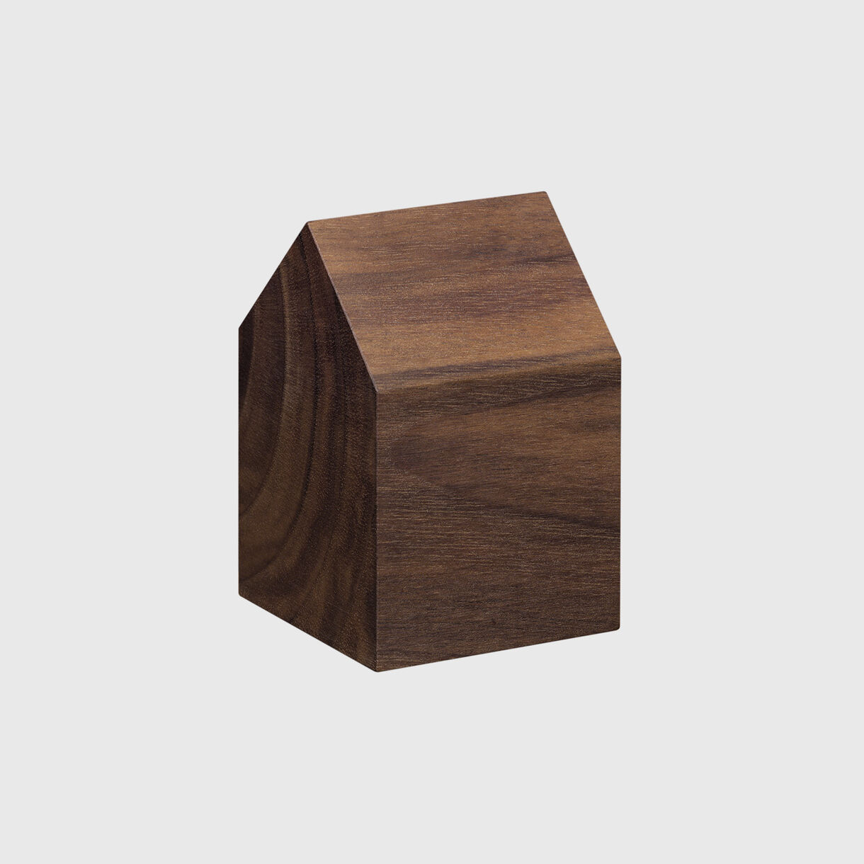 Haus Paper Weight, Saddle Small, European Walnut