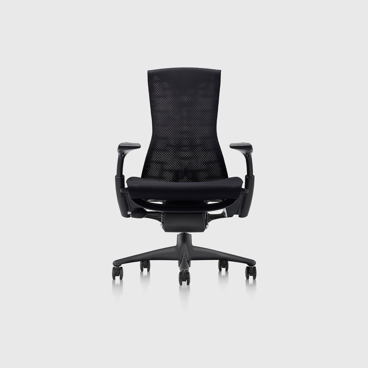 Embody Chair, Rhythm Black with Graphite Base