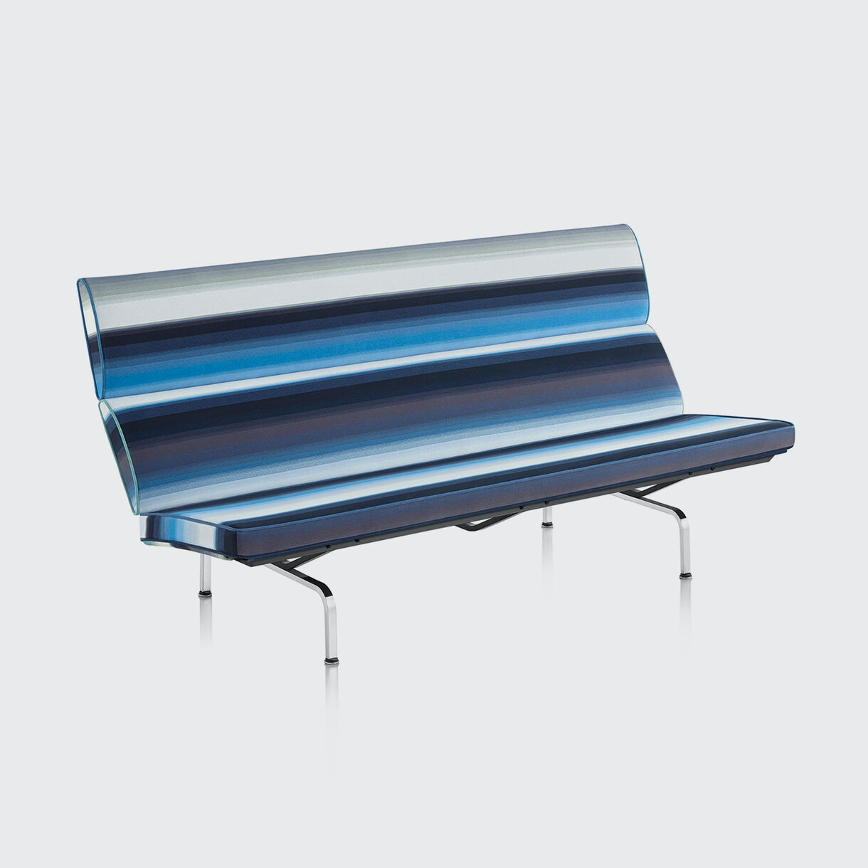 Eames Sofa Compact, Paul Smith x Maharam