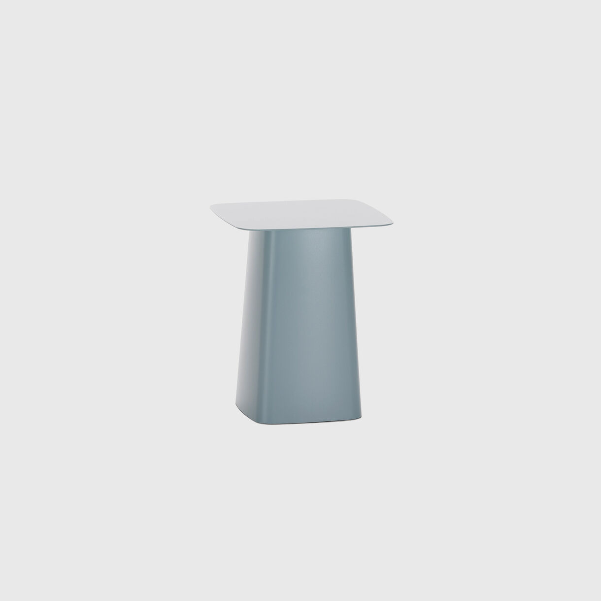 Metal Side Table, Small, Ice Grey