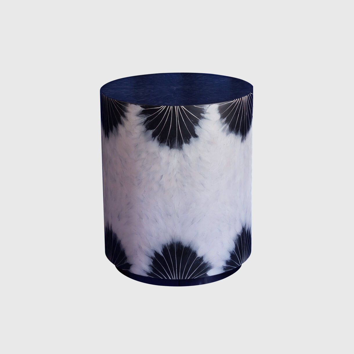 Goose Feather Side Table