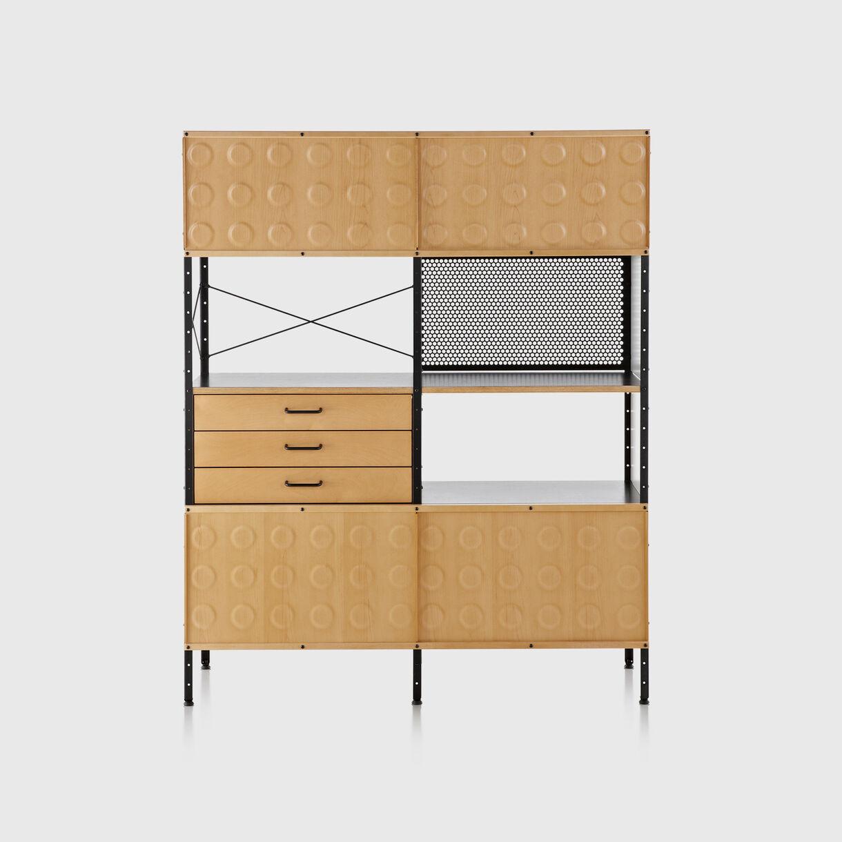 Eames Storage Unit, 4x2