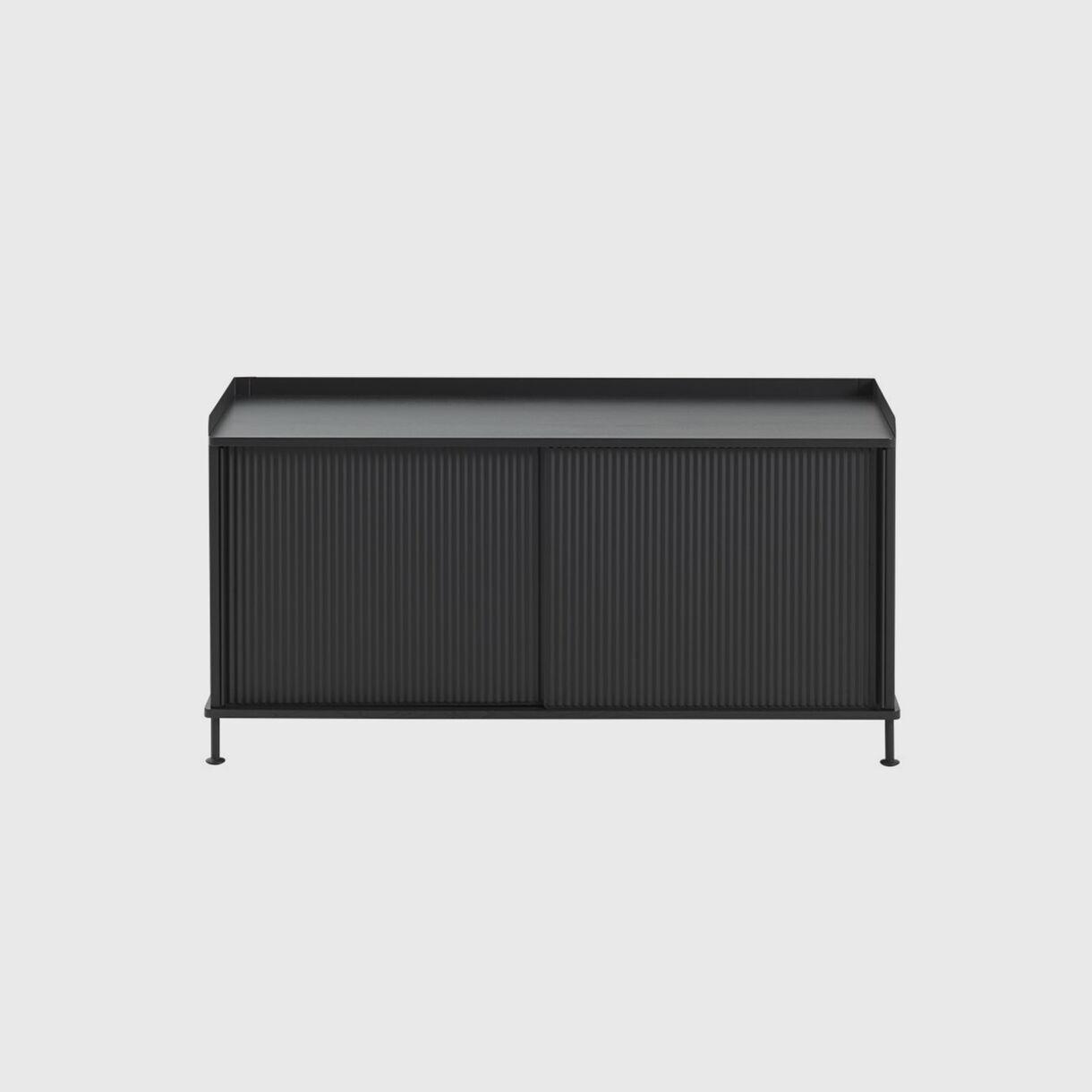 Enfold Sideboard Low, Black