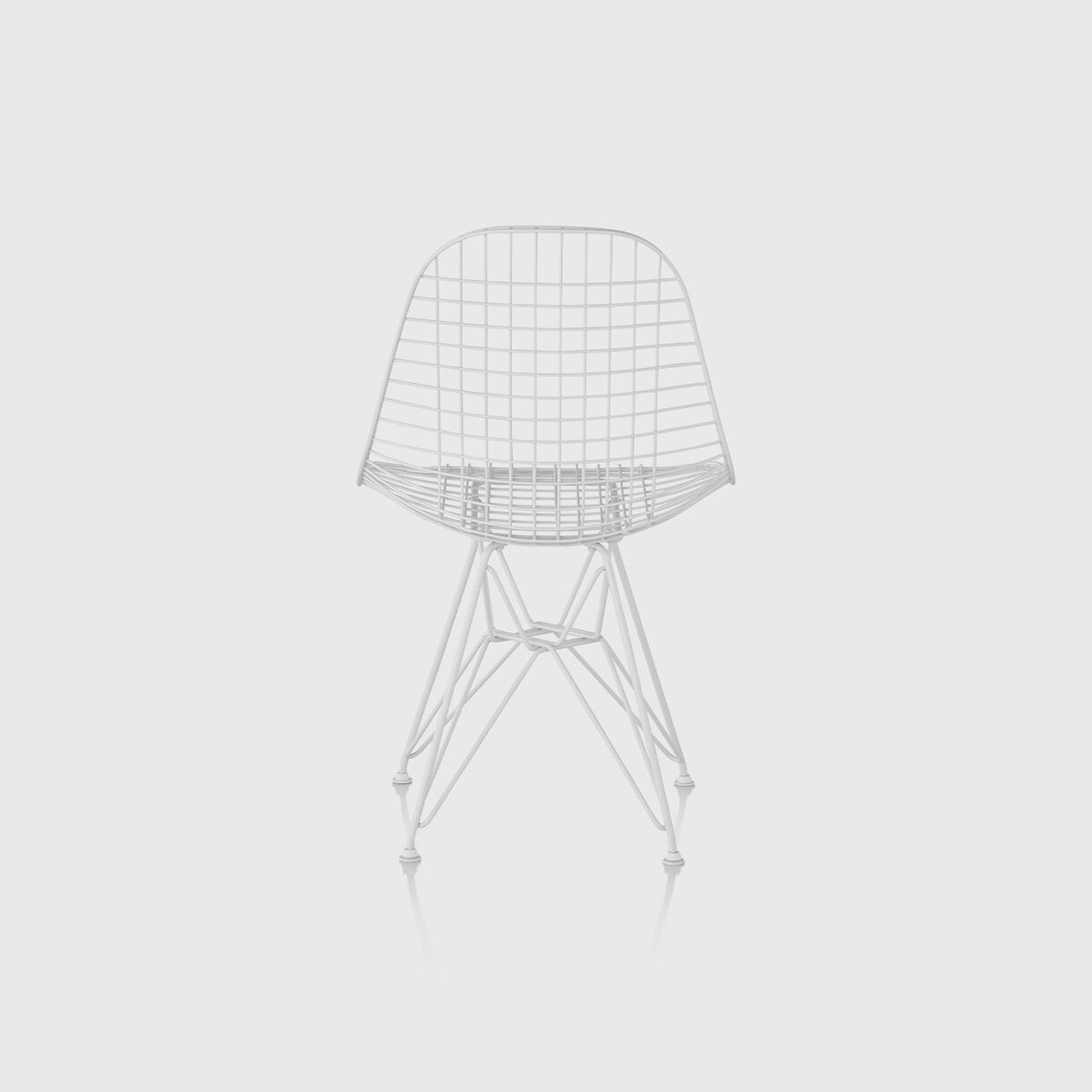 Eames Wire Outdoor Chair, White
