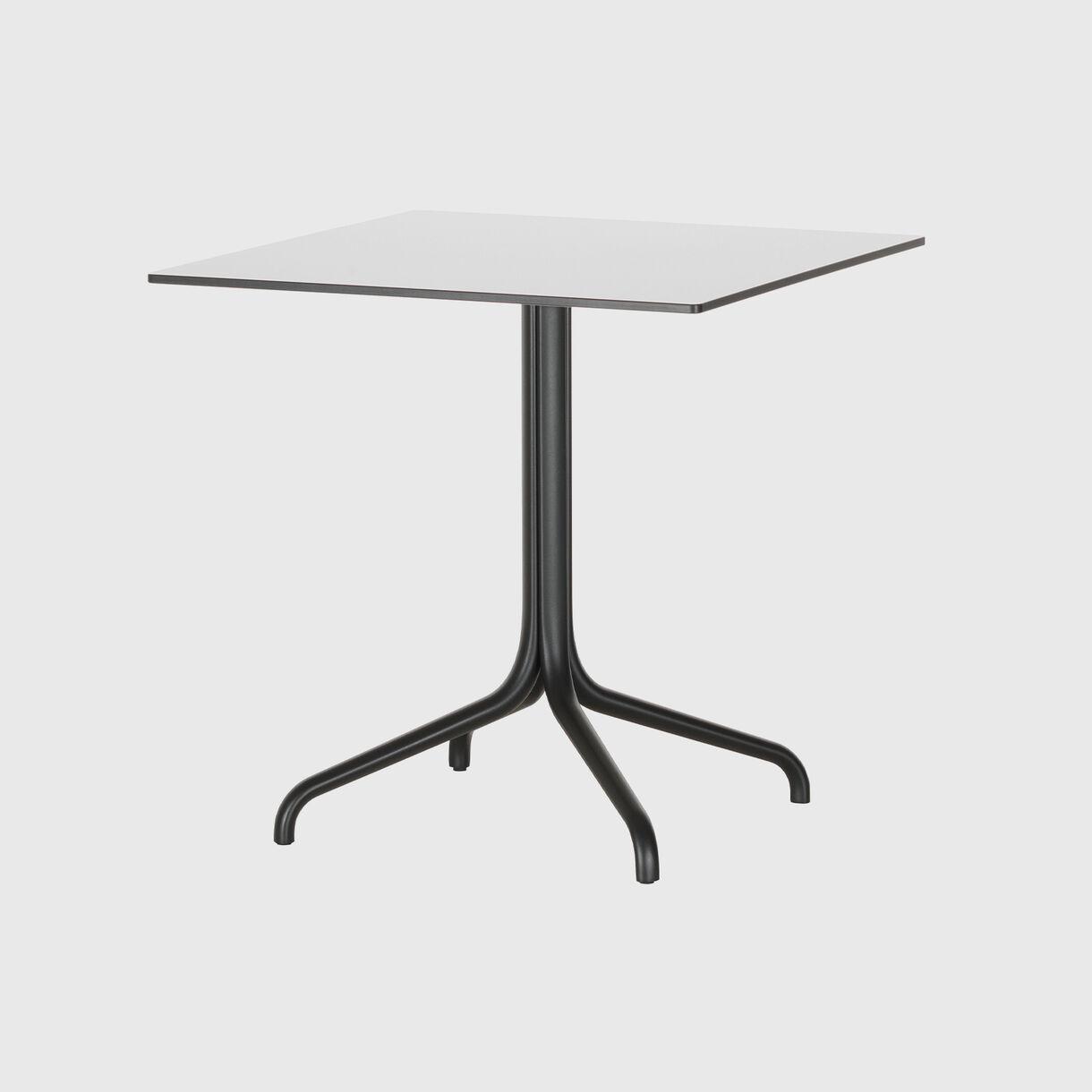 Belleville Square Bistro Table, White