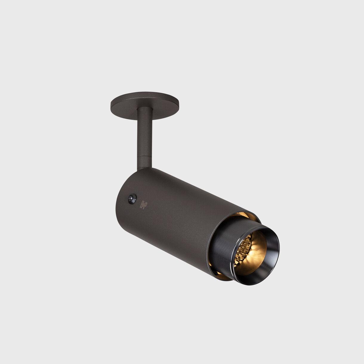 Exhaust Spotlight, Graphite & Gunmetal