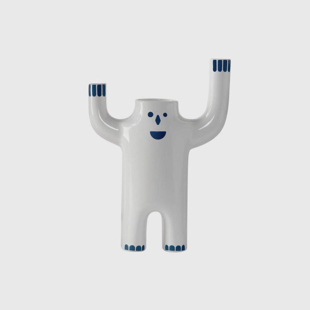 Happy Susto, Animated White, Large