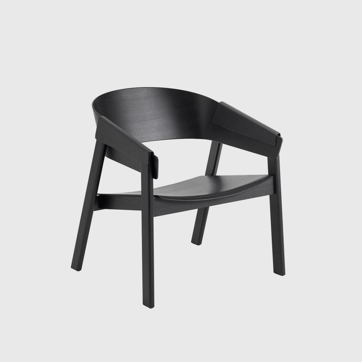 Cover Lounge Chair, Black
