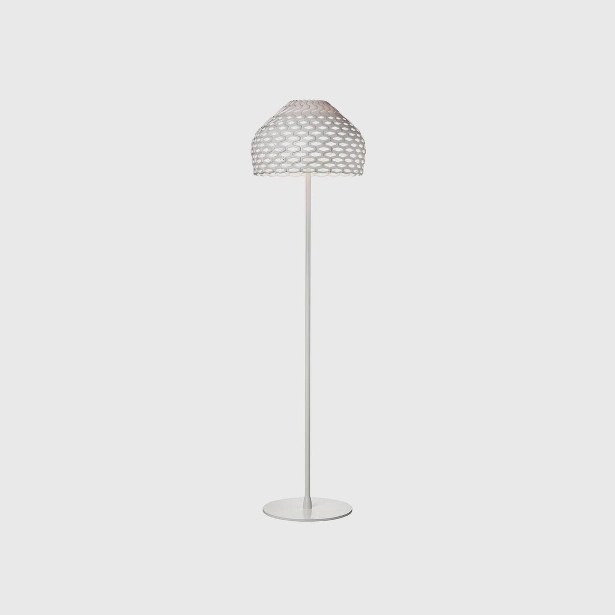 Tatou Floor Lamp, White
