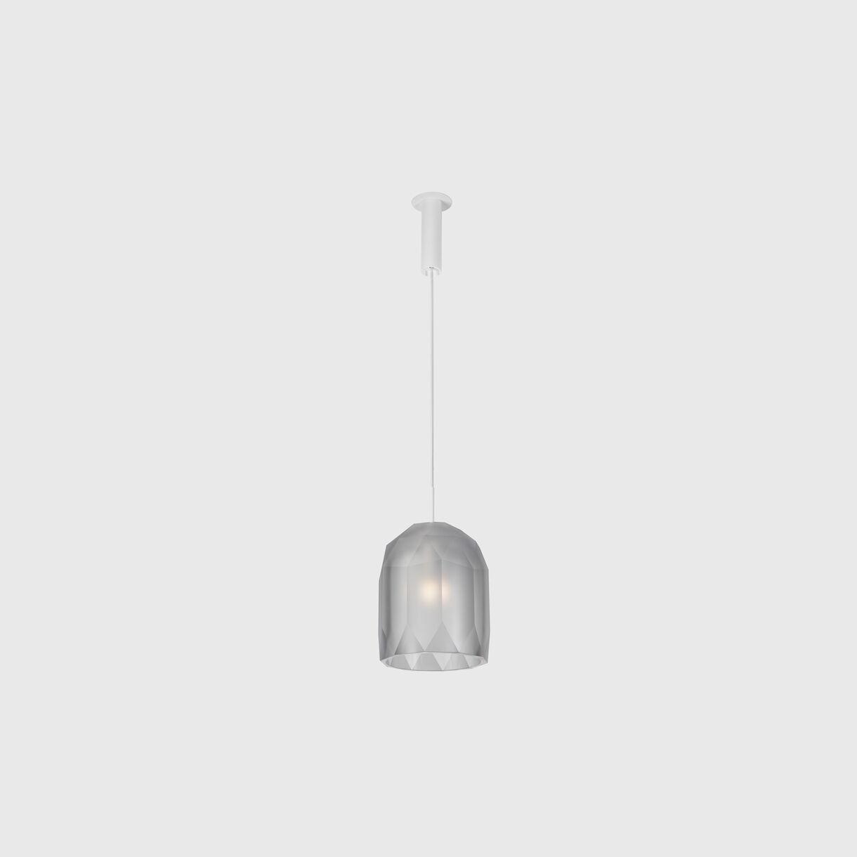 Polygon Pendant Lamp, Clear