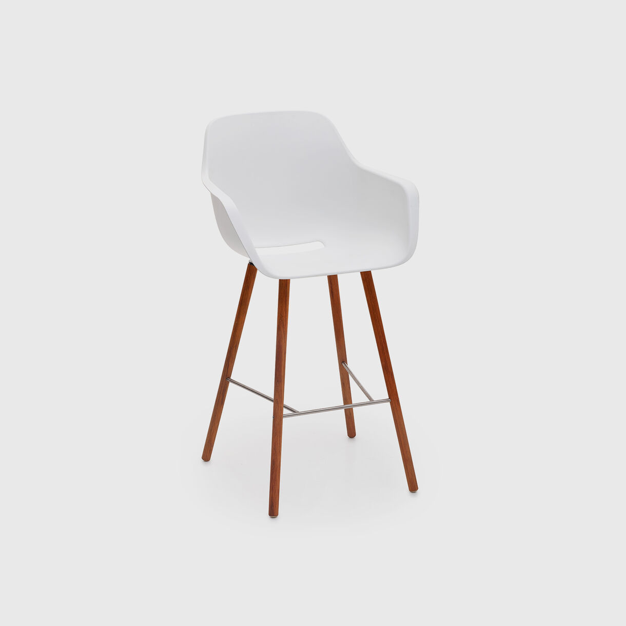 Captain Woody's High Chair, White