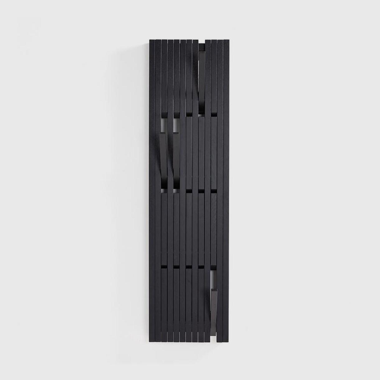 Piano Coat Rack, Small, Black