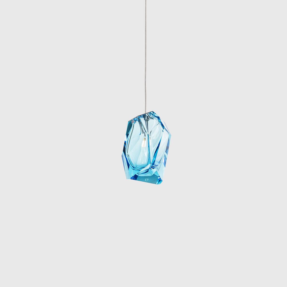 Crystal Rock Pendant, Blue