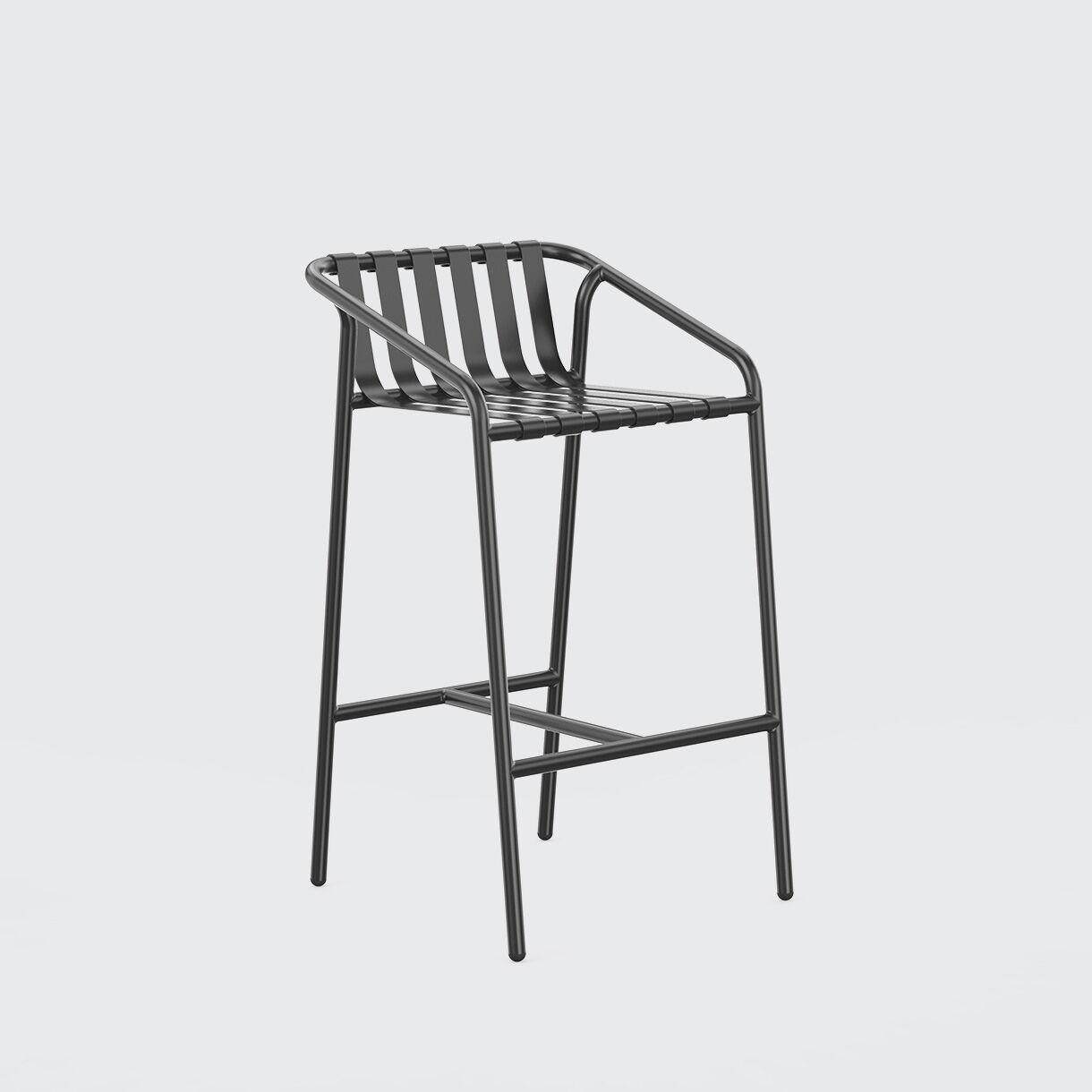 Strap Bar Chair, 750, Black
