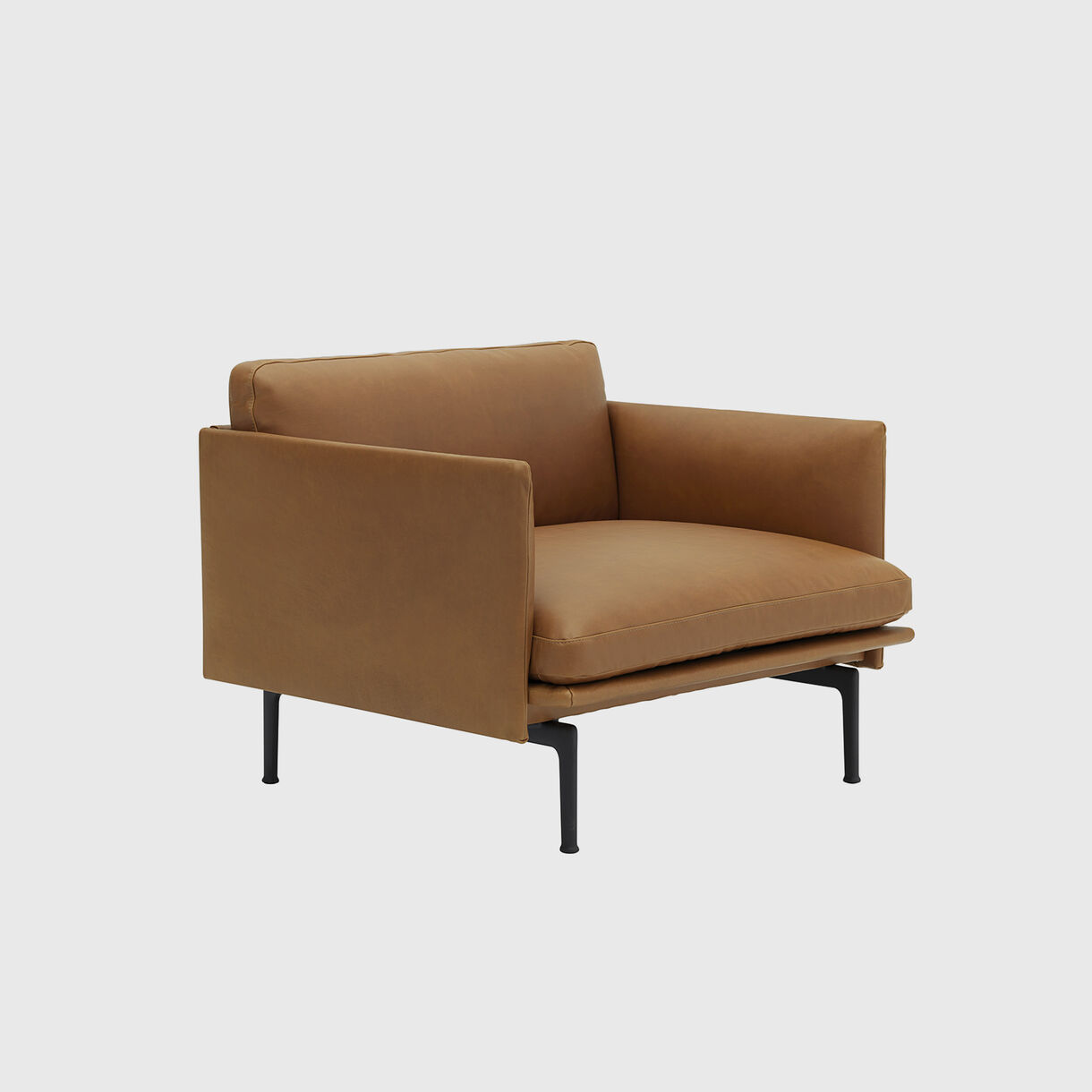 Outline Chair, Cognac Leather