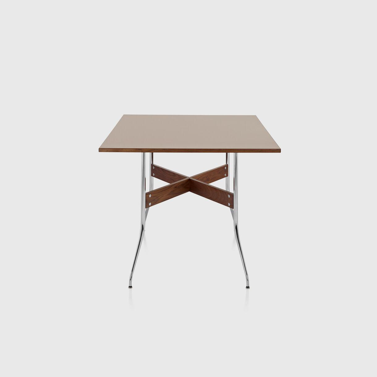 Nelson Swag Leg Dining Table, Rectangular, Walnut