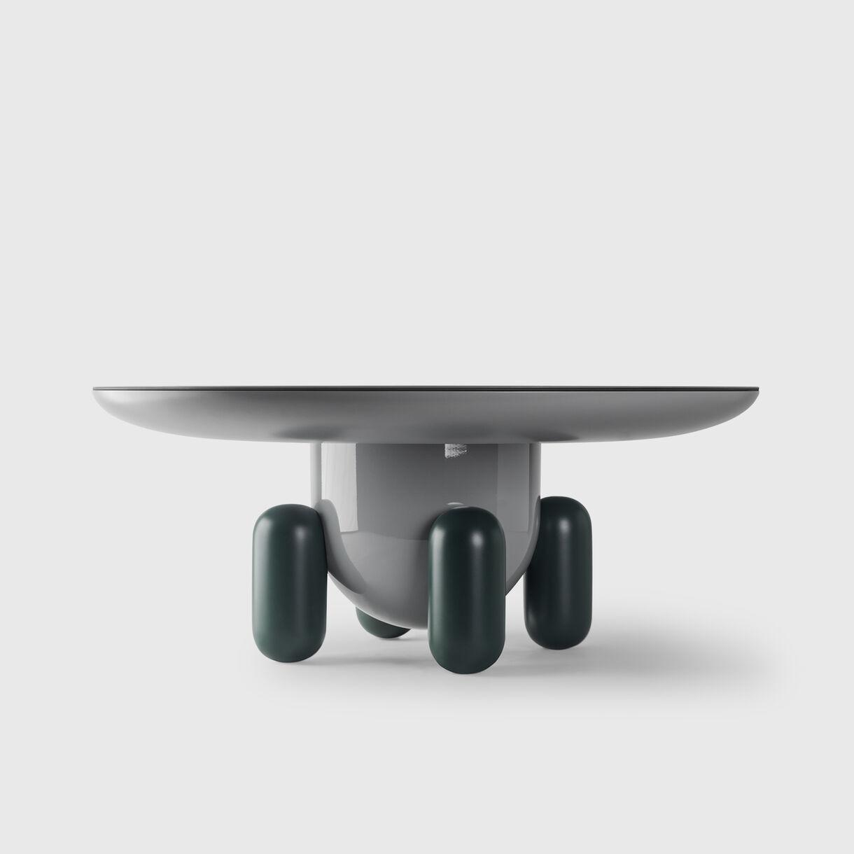 Explorer 3 Table, Multicolour Grey