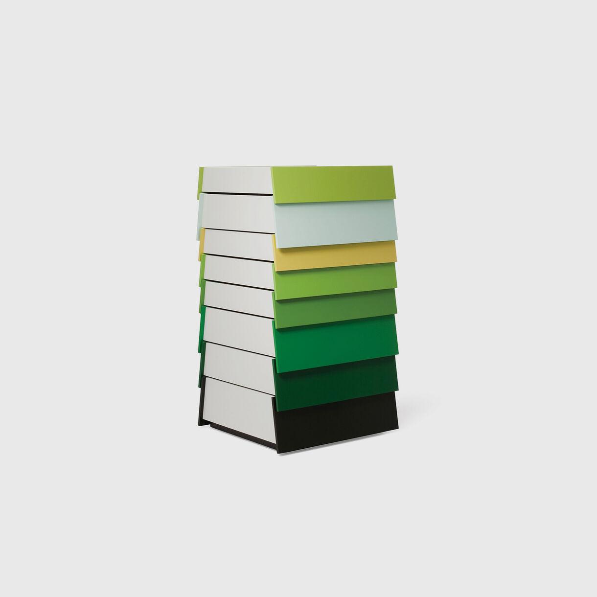 Stack 8 Drawer, Green