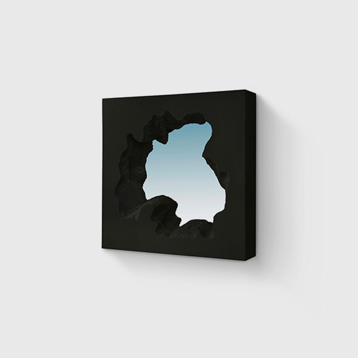 Broken Square Mirror, Black