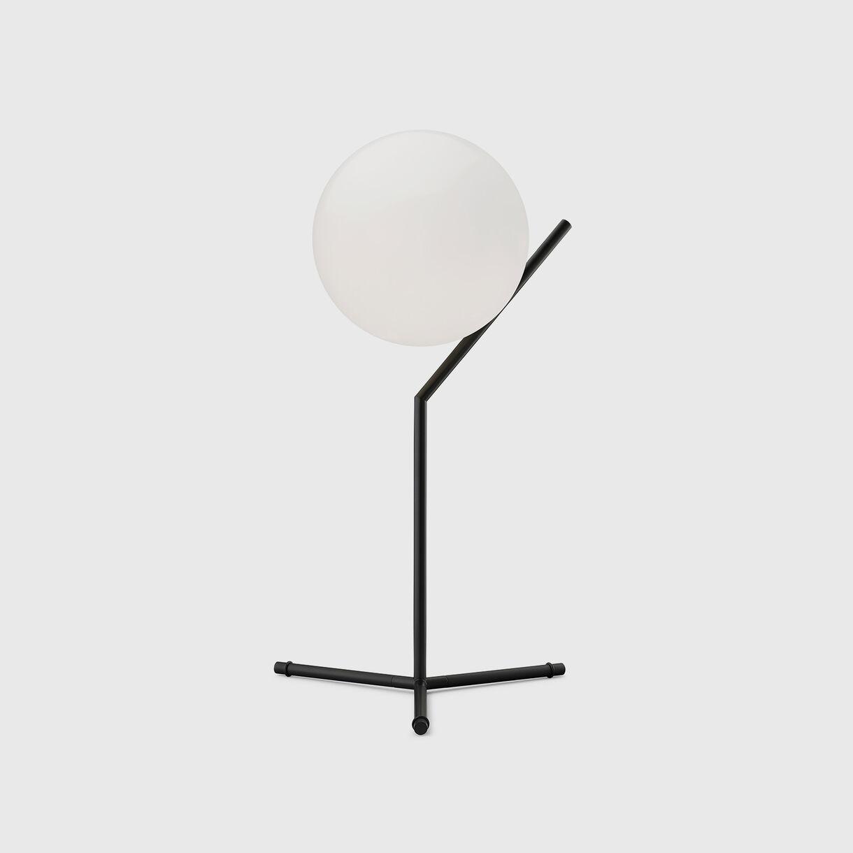 Flos IC Table Lamp High Black
