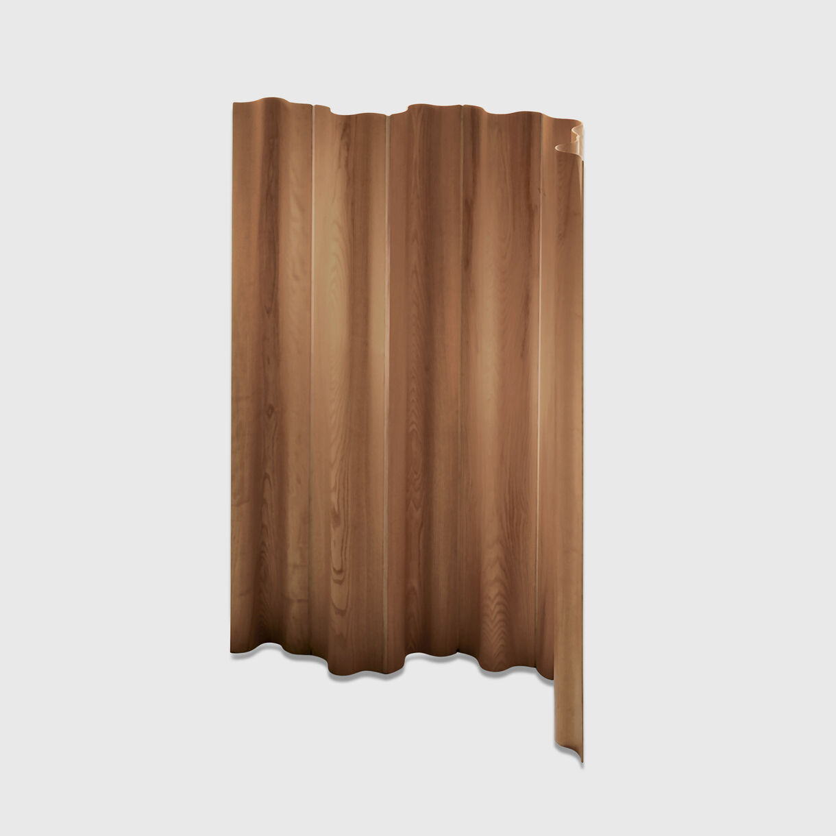 Eames Moulded Plywood Folding Screen, Walnut
