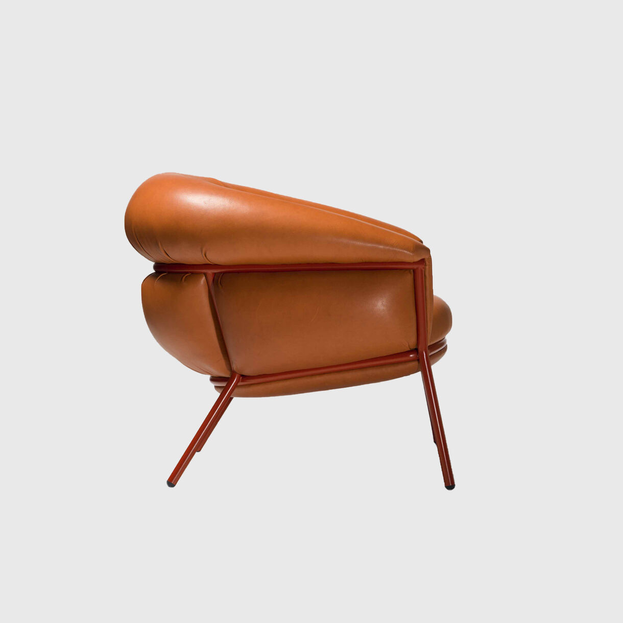Grasso Armchair, Sauvage Grapefruit