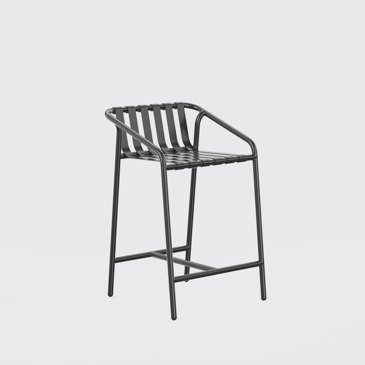 Strap Bar Chair, 650, Black