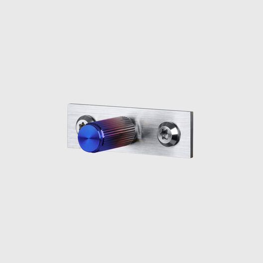 Linear Furniture Knob with Plate