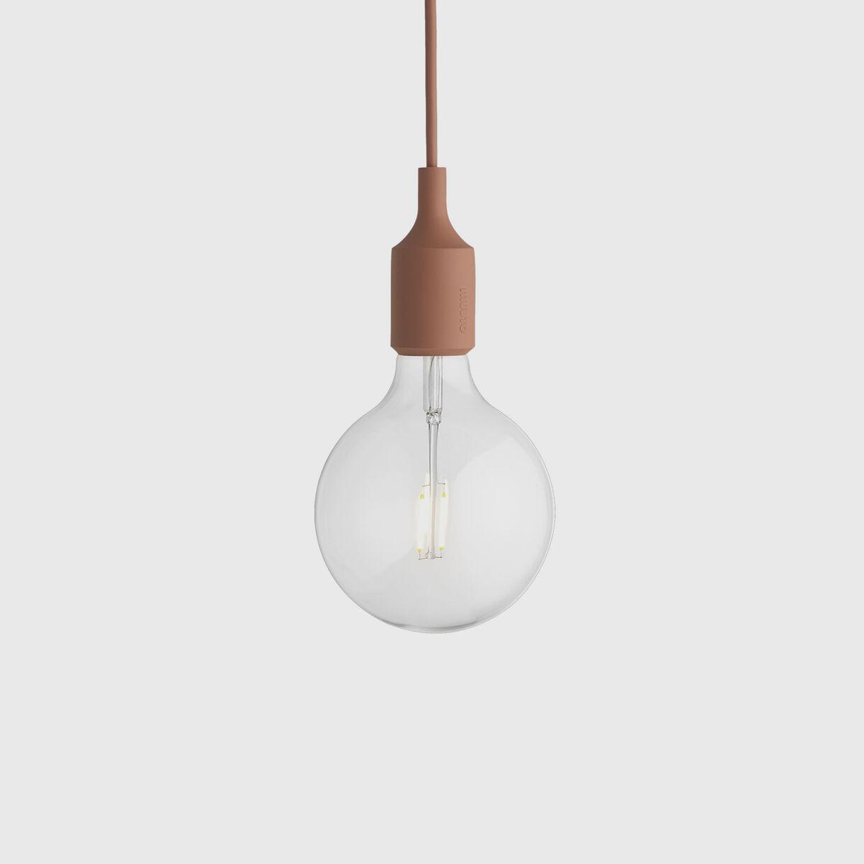 E27 Pendant Lamp, Terracotta