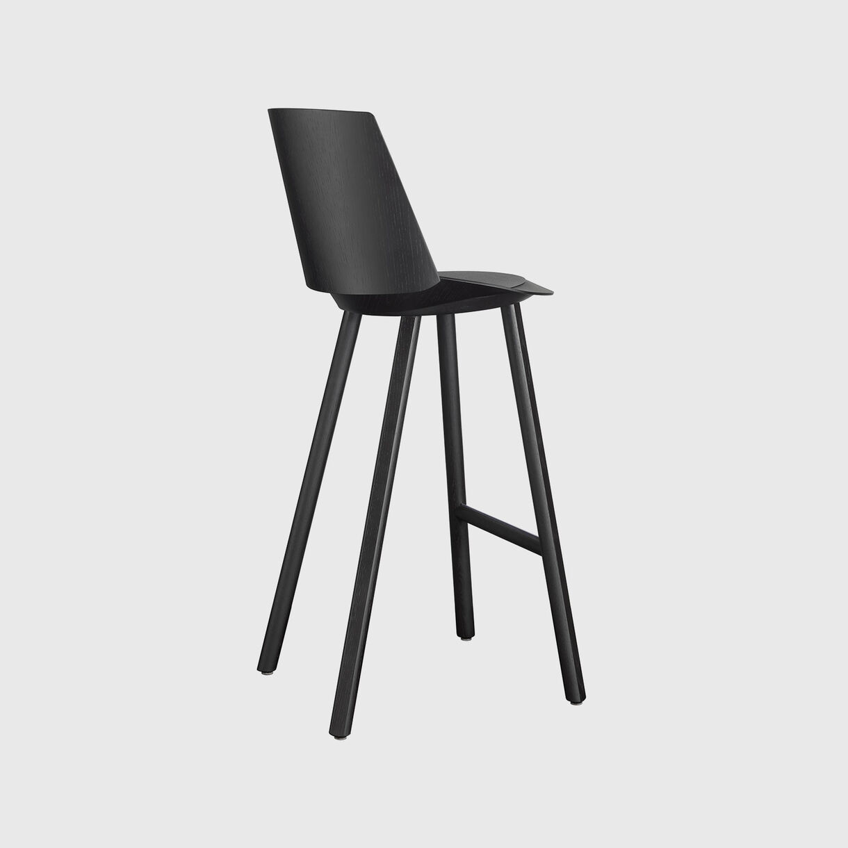 Jean Bar Stool with Backrest