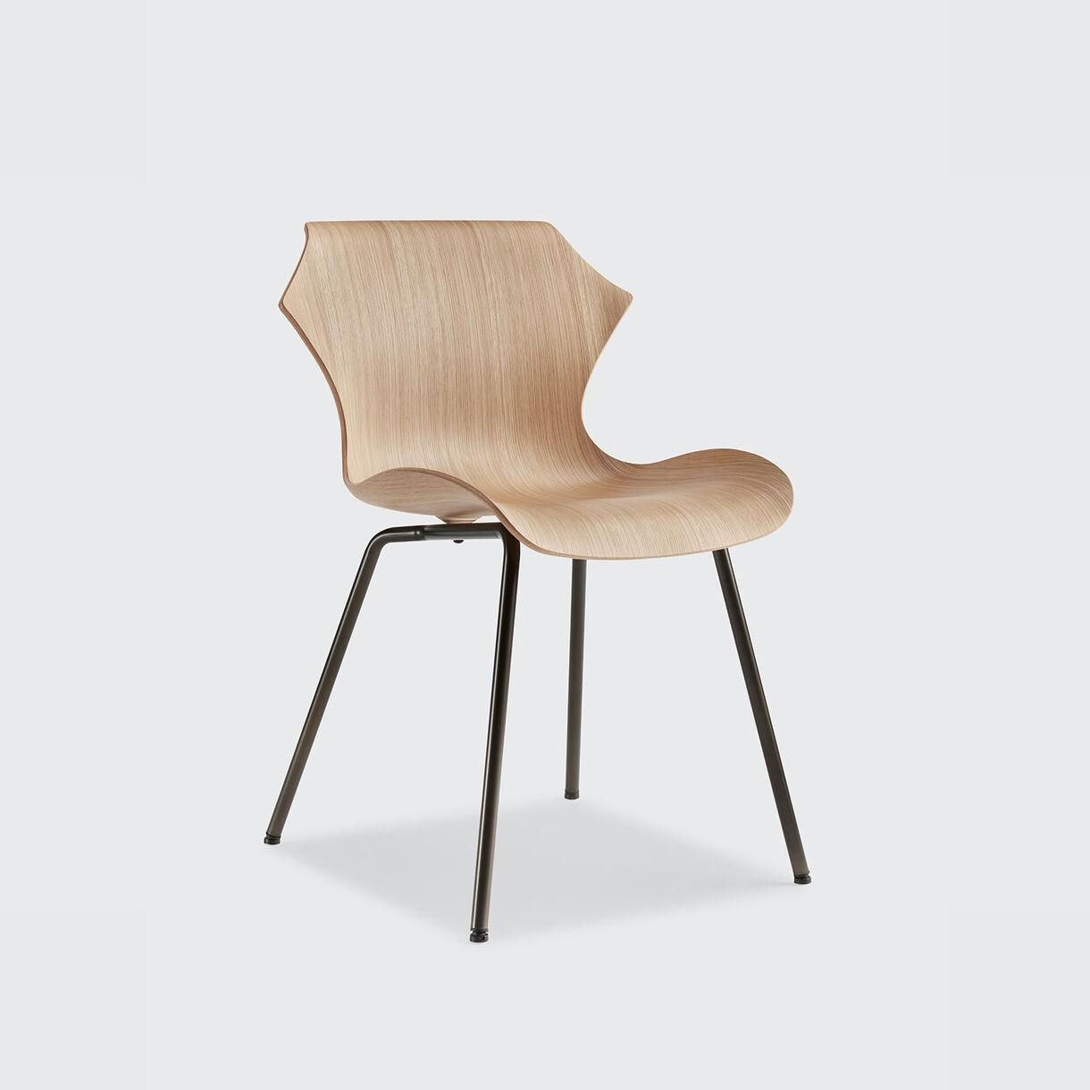 Petal Chair, Oak