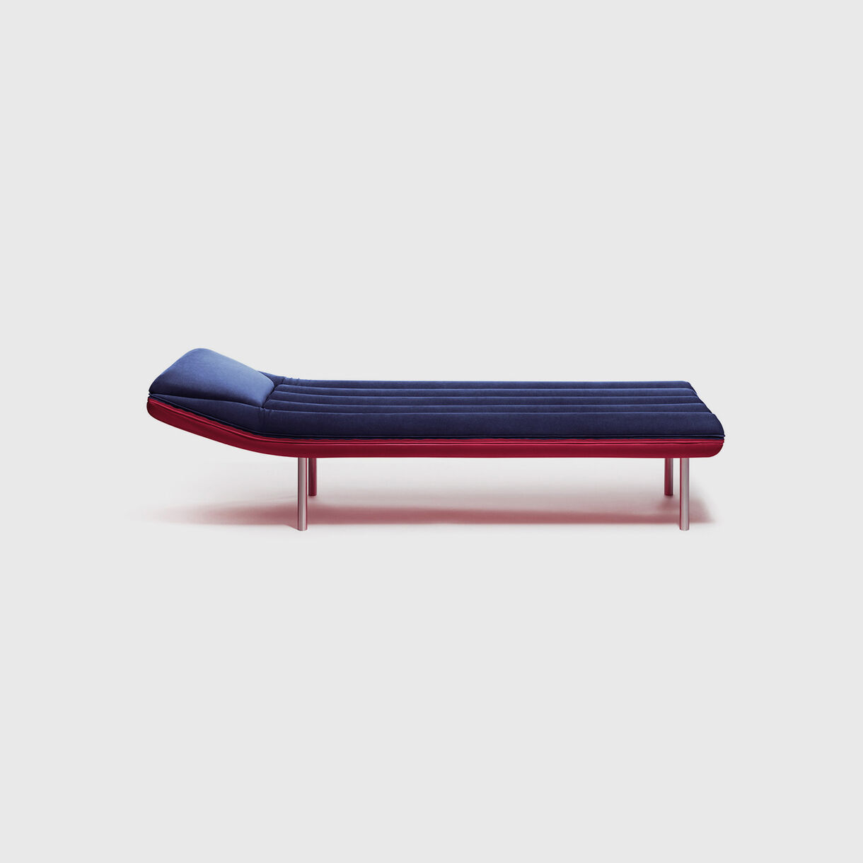 Blow Chaise Lounge, Navy