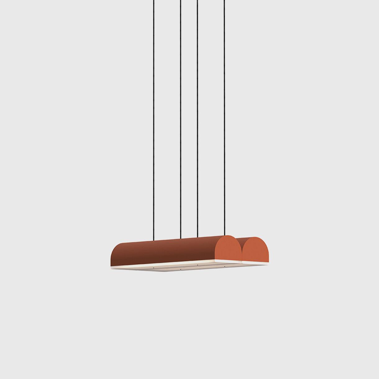 Hutchison 02 Pendant Lamp, Terracotta