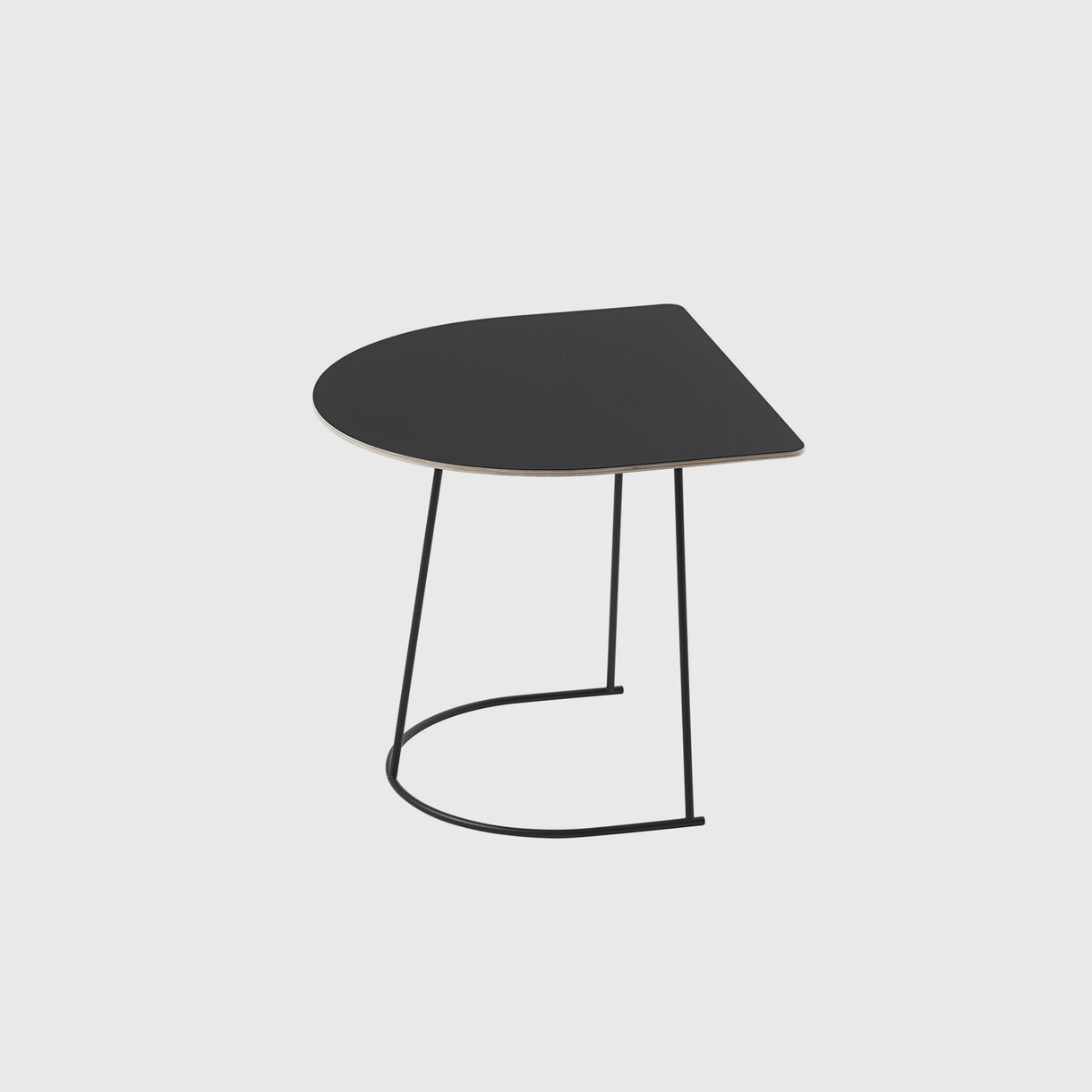 Airy Coffee Table Half Size, Black
