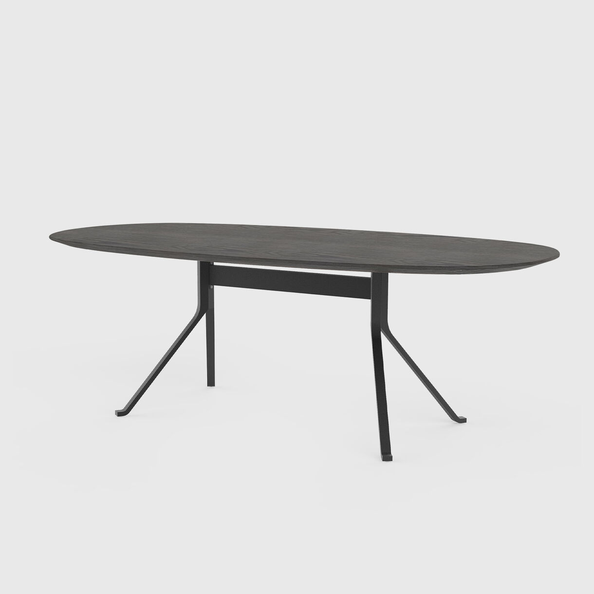 Blink Oval Dining Table Wood Top