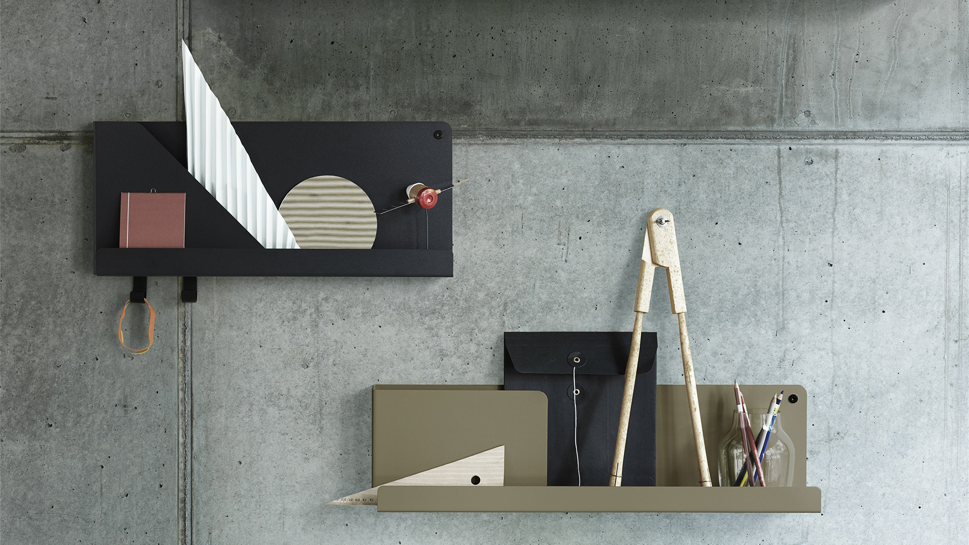 Folded Shelves, Lifestyle