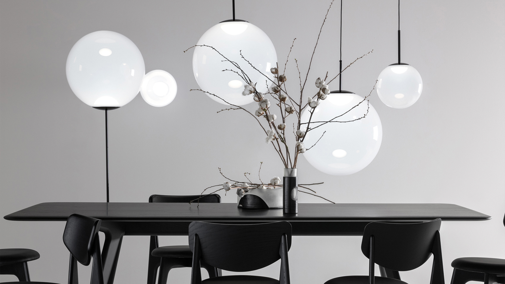 Opal Pendant Light, Lifestyle