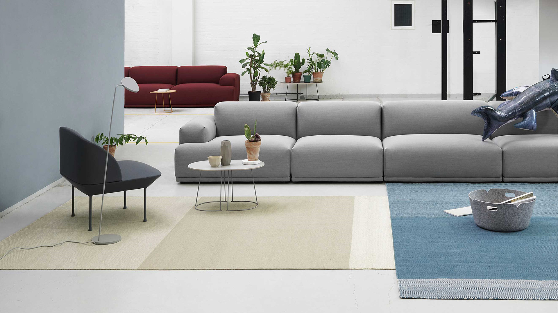 Connect Modular Sofa, 4 Seater, Lifestyle